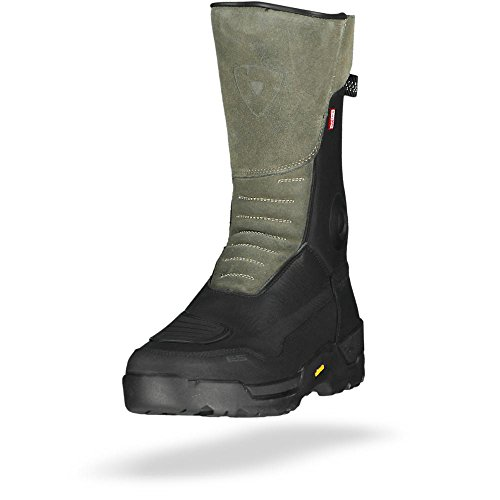 FBR032 - 0010-44 - Rev It Gravel OutDry Motorcycle Boots 44 Black (UK 9.5)