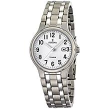 FESTINA F16461/1 - Reloj de mujer de cuarzo, correa de titanio