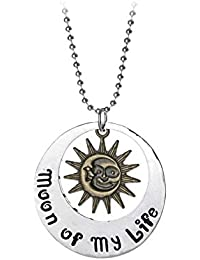 TBOP NECKLACE Europe And The United States Moon Of My Life Alloy Necklace In Silver Gold Color