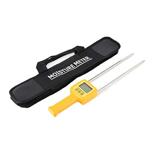 TK100S Digital LCD Getreide Feuchtigkeitsmesser Tester Mais Weizen Reis Bohnen Weizen Kuchen Mehl Stärke Futter Feuchtigkeit Hygrometer Werkzeug