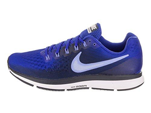 Nike Air Zoom Pegasus 34, Scarpe da Running Uomo Blu (Hyper Royal/Obsidian/Royal Complexion/Royal Pulse 409)