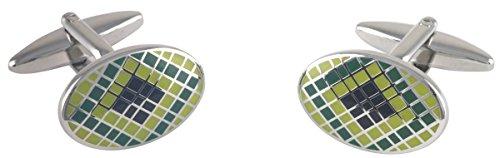 argento-verde-ovale-nero-smalto-epossidico-piazze-gemelli-di-david-van-hagen