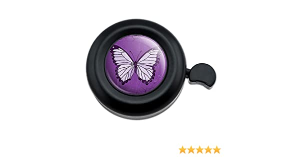 Bicycle Handlebar Bike Bell Butterfly Artsy Blue