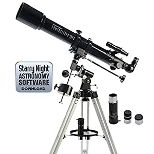 Celestron PowerSeeker 70EQ Telescope (Black)