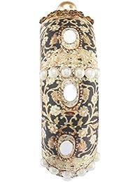 Puneet Gupta Nainika Black Embellished Traditional Kangan