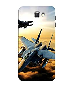 Fuson Designer Back Case Cover for Samsung Galaxy On Nxt (2016) (War Planes High Sky Fly Missile Fighter Jung)