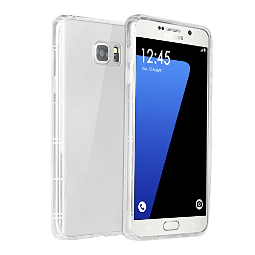 Galaxy S7 Case Cover, elove Samsung Galaxy S7 [High Quality] [Ultra Thin] [Soft] [Flexible] [Shock Absorbing] [Drop Protection] TPU Transparent Back Case Cover for Samsung S7 (Not compatible with S7 Edge) – CLEAR
