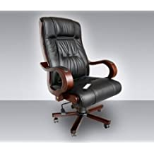 Fauteuil de bureau en cuir chaise bureau fille Lepolyglotte