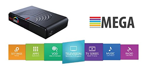 "'red360 Mega Plus HD 7line IPTV 12 Months Run Time included The Price, ""Built-in Wi-Fi over 1500 WiFi Build In channles No buffe Anillo Arabic/Kur Dish/Afghan/Sudán/Turkish/Indian/Persa and etc.. TV"
