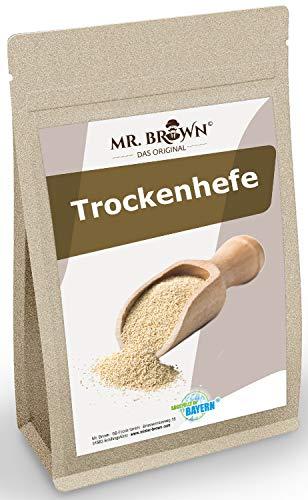 Mr. Brown Trockenhefe 100g   Hefe   Backhefe   ohne Konservierungsstoffe   Pulver   abgefüllt in Bayern