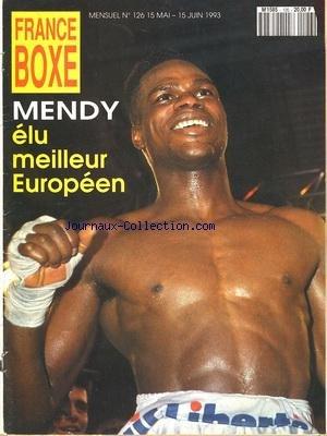 FRANCE BOXE [No 126] du 15/05/1993