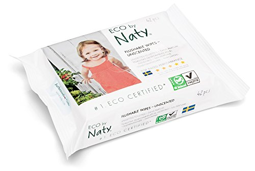 Naty by Nature Babycare Öko Feuchter Toilettentücher, 12er Pack (12 x 42 Stück) - 4