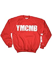 YMCMB - YMCMB - Sweat Rouge logo Blanc - Homme