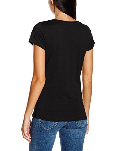 Blend Katie Te, T-Shirt Femme Schwarz (Black 20100)