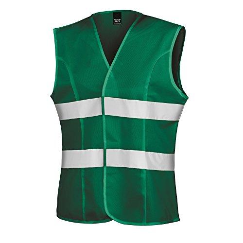 Result Damen Safety Weste Reflektierend (S) (Paramedic Grün)