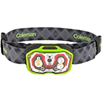 Coleman Battery Lock Cxs Plus 300 Lithium-Ion Recharge Head Torch, Green