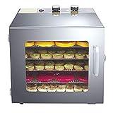 ZYFA Stainless Steel Food Dehydrator-Raw Food & Jerky Fruit Dehydrator-Preserve Food Nutrition Professional