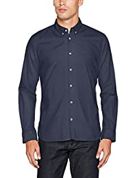 Tom Tailor Floyd Soft Print Mix Shirt, Chemise Casual Homme