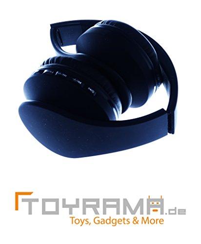 4 in 1 Bluetooth Kopfhörer - Schwarz