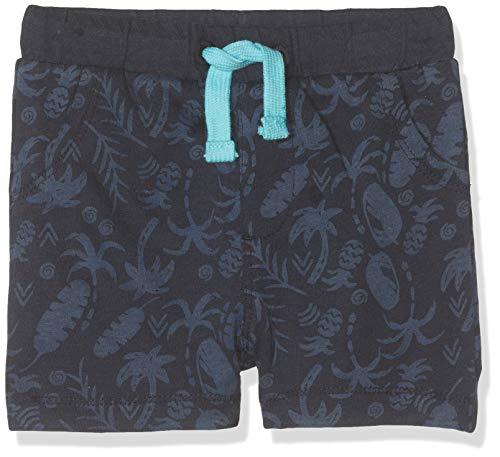 s.Oliver Baby-Jungen 59.906.75.5008 Shorts, Blau (Dark Blue AOP 58a2), Herstellergröße: 80/REG - Baby-jungen-short