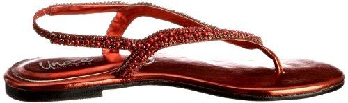 Unze Evening Sandals, Sandali donna Rosso (Rot (L18359W))