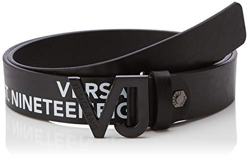 Versace Jeans Couture Herren Belt Gürtel, Schwarz (Nero 899), 105 (Herstellergröße: 105.0)