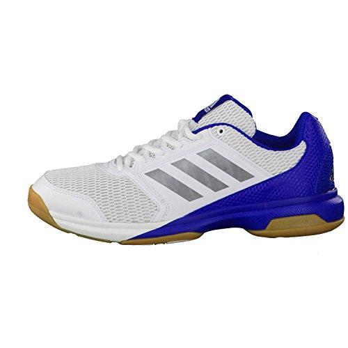 adidas Herren Multido Essence Handballschuhe ftwr white/night met. f13/collegiate royal