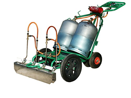2EBALM Machine de désherbage Charoflam 3760113030598 Vert/Noir/Orange 90 x 80 x 90 cm 36500S