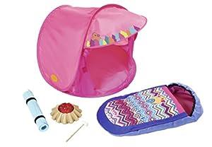 Zapf Baby Born Play&Fun Camping Set Conjunto de Accesorios para muñecas - Accesorios para muñecas (Conjunto de Accesorios para muñecas, 3 año(s), Multicolor, 43 cm, Chica, 5 Pieza(s))