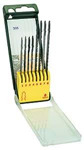 Bosch 2607019458 Set 8 Lame Seghetto Alternativo Legno Metallo Plastica, Attacco T