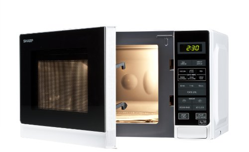 Sharp R272WM 20 Litre Solo Microwave, White