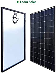 LOOM SOLAR Panel 375 watt - 24 Volt Mono PERC (Pack of 2), BIS Certified