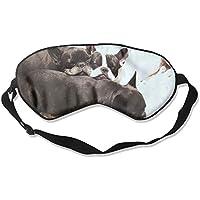 Cute Bulldog Sleeping Sleep Eyes Masks - Comfortable Sleeping Mask Eye Cover For Travelling Night Noon Nap Mediation... preisvergleich bei billige-tabletten.eu