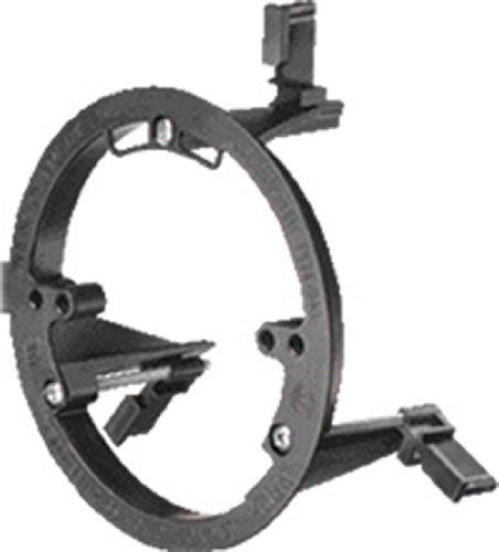 arlington-lvr1-low-voltage-smoke-detector-mounting-bracket-round-black-25-pack
