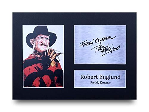 HWC Trading Freddy Krueger A4 Ungerahmt Signiert Gedruckt Autogramme Bild Druck-Fotoanzeige Geschenk Für Robert Englund Filmfans -