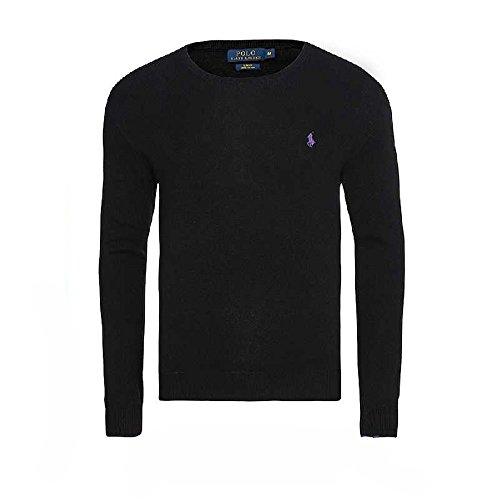 000c641ce7d7cd Ralph Lauren - Jersey cuello redondo SLIM FIT (Polo Black, XL)