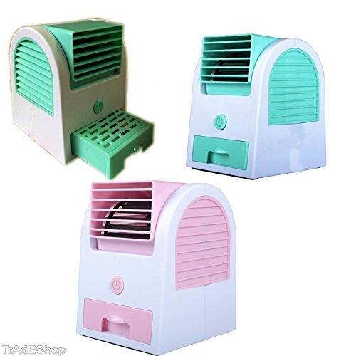 Trade shop–Mini Climatiseur Climatiseur Ventilateur USB Batteries Glace Air Froid