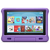 Kid-Proof Case for Fire HD 10 tablet   Compatible with 9th generation tablet (2019 release), purple