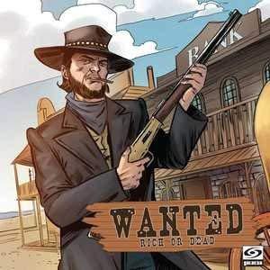 Galakta GAKGLWROD01 Wanted: Rich or Dead, alfonbrilla para ratón