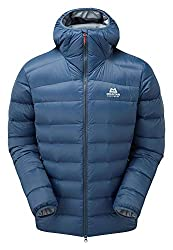 Mountain Equipment Skyline Hooded Jacket, M, Denim Blue