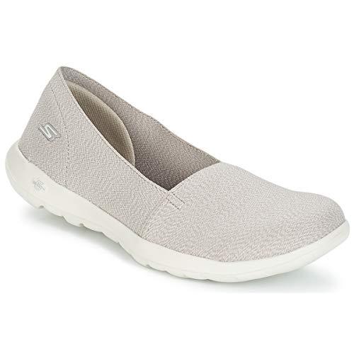Skechers Damen Go Walk Lite Smitten Slip On Sneaker