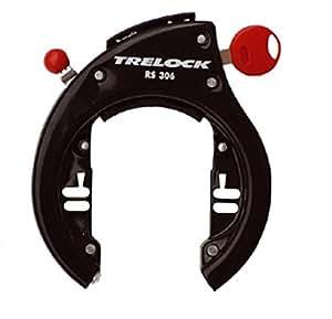 Trelock RS 306 AZ Frame Lock Direct Mount with Removable Key Black