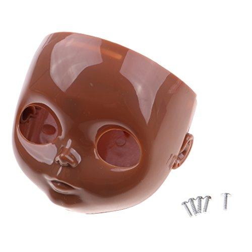 5 Backplate (CUTICATE Big Eye Doll DIY Benutzerdefinierte Ersatz Körperteile Für Takara RBL Blythe Faceplate Backplate Schrauben Set, 4 Farben Hautton Für Wählen - # 5)