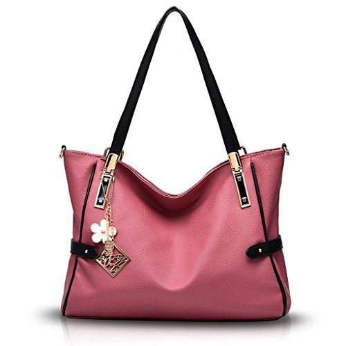 Borsetta Baymate Stile Atmosfera Moda Borse Spalla Messenger Borse Rosa Scuro