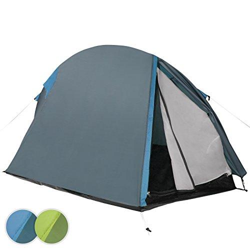 Jago - Tente de Camping Imperméable 2 Personnes Protection UV 50+ Poids Léger (Couleur au Choix)