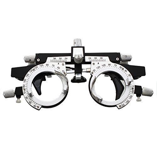 SODIAL(R) optische Optik Probelinse Rahmen Auge Optometrie Optikergeschaeft