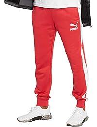 cc81fe5c9 Amazon.es  Puma - Rojo   Pantalones deportivos   Ropa deportiva  Ropa