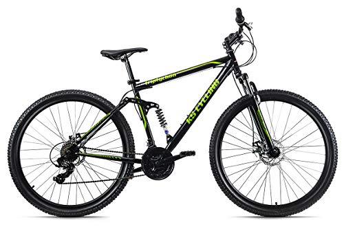 KS Cycling Herren Mountainbike Fully 29\'\' Triptychon schwarz RH 51 cm, 51