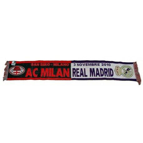 Bufanda Milan vs Real Madrid Champions League 2010/11
