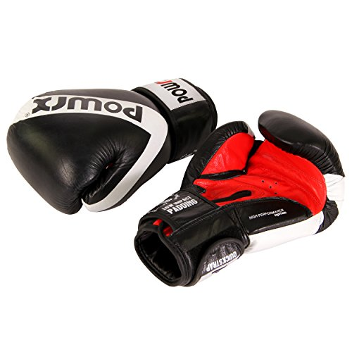 Rewel by Powrx Trainings-Boxhandschuhe Profi Echtleder